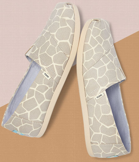 Shoes featured: Women's Giraffe Alpargatas.