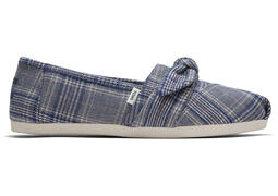 Citadel Blue Plaid CloudBound Alpargata